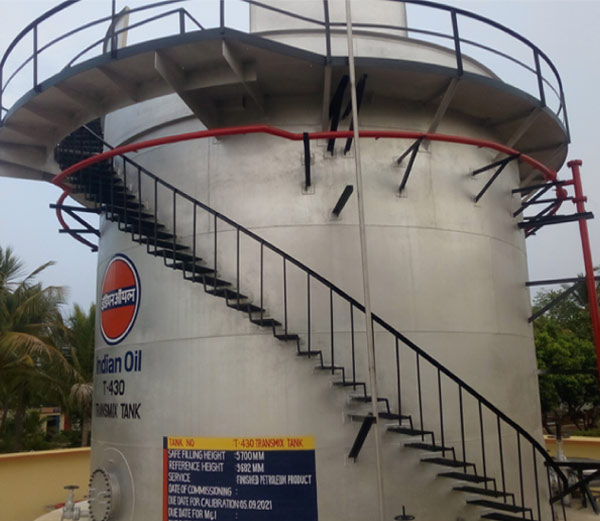 Construction of Storage Tanks - Gulf Engineers and